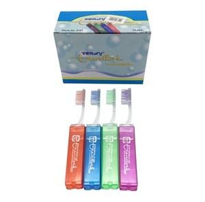 Imagen de Cepillo de dientes para adulto, para viaje, PACK x24
