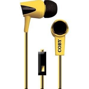 Imagen de Auriculares COBY ROAR, con micrófono, cable plano