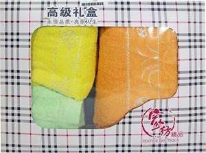 Imagen de Toallas de algodón x3, toallón 70x140cm, 2 toallas de mano 34x75cm, en caja