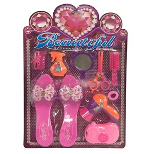 Imagen de Set de belleza, 10 piezas, con zapatos, en blister