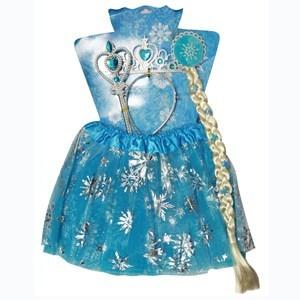 Imagen de Disfraz pollera, varita, corona, y trenza, en bolsa