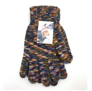 Imagen de Guantes de adulto para dama tejidos, jaspeados, varios colores