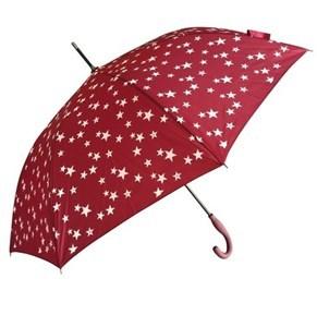 Imagen de Paraguas largo automático, con diseño estrellas, cambian de color al mojarse, 8 varillas, varios colores