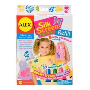 Imagen de Pinturas y stencil para decorar tela ALEX