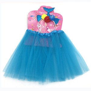 Imagen de Disfraz pollera con tiara de sirena, en bolsa