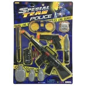 Imagen de Ametralladora con pistola y 8 accesorios, en blister
