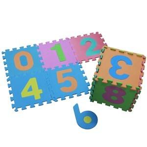 Imagen de Alfombra de goma EVA x10, diseño de letras o números
