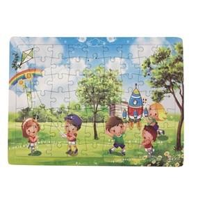 Imagen de Puzzle de cartón 63 piezas, varios diseños, en bolsa
