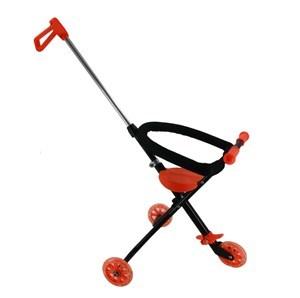 Imagen de Andador triciclo con barra ajustable, 2 colores