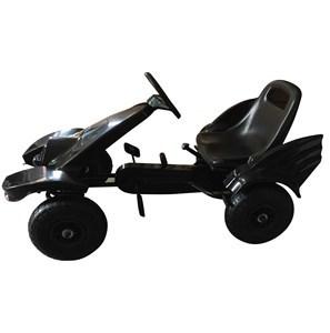Imagen de Auto kart a pedal, ruedas de goma, negro, con freno, en caja