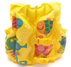 "Imagen de Inflable flotador chaleco salvavidas, ""Intex"", con diseño, en bolsa"