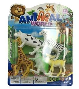 Imagen de Animales surtidos x5, en blister