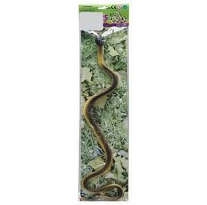 Imagen de Animales serpiente de goma, 4 modelos, en bolsa