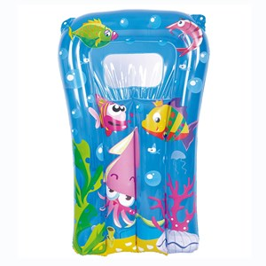 Imagen de Inflable flotador colchoneta, 2 colores, en bolsa, Jilong