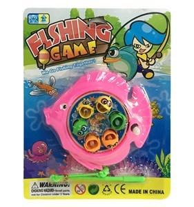 Imagen de Pesca, magnético a cuerda, varios colores, en blister