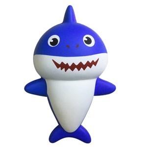 Imagen de Amansaloco squishy tiburón, en bolsa, 2 colores