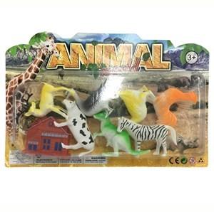 Imagen de Animales surtidos x7, con accesorios, en blister