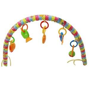 Imagen de Arco para coche o cuna de bebé, con 5 sonajeros, en bolsa de PVC