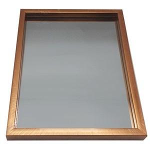 Imagen de Espejo marco de madera, 3 colores