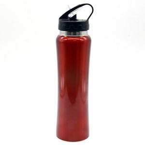 Imagen de Botella deportiva de aluminio con sorbito retráctil, 750ml, varios colores