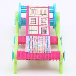 Imagen de Cuentas para armar y decorar pulseras, con telar, en caja