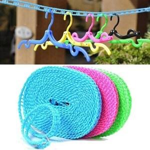 Imagen de Cuerda de plástico, 5m, con topes para colgar perchas