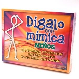 Imagen de Juego de mesa Dígalo con mimíca kids, en caja