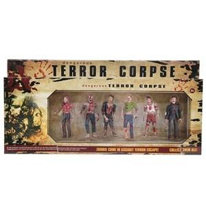 Imagen de Muñecos de acción zombies x6, en caja
