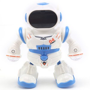 Imagen de Robot bailarín con luz, sonido y movimiento, 3AA, en caja
