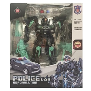 Imagen de Robot auto de policía, en caja
