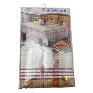 Imagen de Mantel rectangular de PVC afelpado, 152x265cm, varios diseños, en bolsa