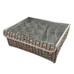 Imagen de Caja organizadora de TNT con tapa, 15 divisiones, ideal para guardar ropa interior, bijou, etc, varios diseños