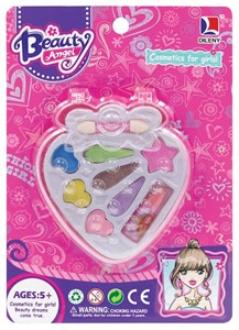Imagen de Maquillaje infantil, petaca frutilla, en blister, Beauty Angel autorizado MSP