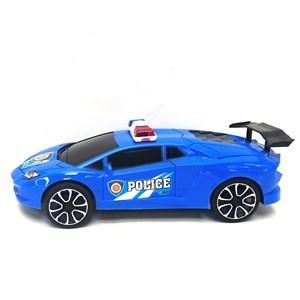 Imagen de Auto a fricción, policía, en burbuja, 2 colores