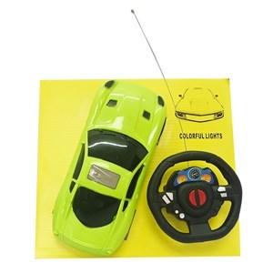 Imagen de Auto con control remoto, con luces, 2AA, en caja, 3 colores
