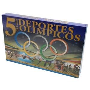 Imagen de Cinco deportes olímpicos, en caja