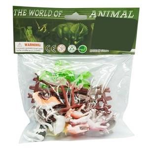 Imagen de Animales de granja mini x12, con accesorios, en bolsa