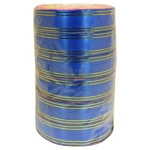 Imagen de Cinta de regalo borde dorado, 2.9cm de ancho, pack x6 rollos, varios colores
