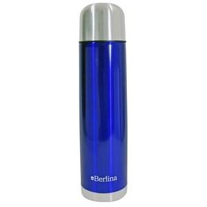 """Imagen de Termo 1L bala color azul, pico botón, base antideslizante, """"Berlina"""""""