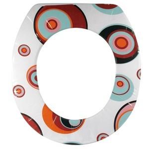 Imagen de Funda de pvc acolchonada para water, autoadhesiva, varios diseños