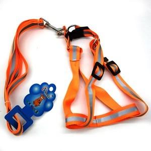 Imagen de Correa para mascotas con arnés reflectivo, varios colores