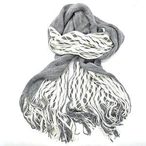 Imagen de Bufanda tejida doble, con diseño panal, en bolsa, varios colores