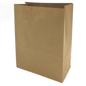 Imagen de Bolsa de papel marrón grande, pack x50