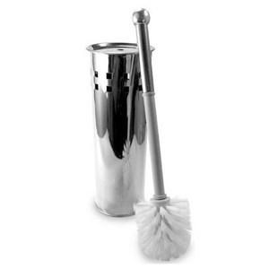 Imagen de Cepillo para WC con base de metal, en caja