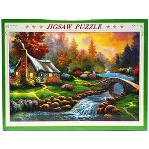 Imagen de Puzzle 1000 piezas, diseño paisaje, en caja