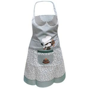 Imagen de Delantal para cocina de tela, con bolsillo, varios diseños