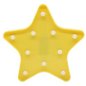 Imagen de Lámpara led, diseño corona y estrella, 2AA