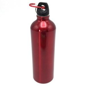 Imagen de Botella deportiva de aluminio con gancho mosquetón, 750ml, varios colores