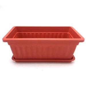 Imagen de Maceta de plástico, con plato