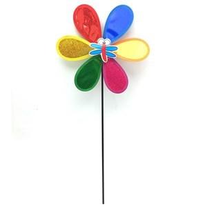Imagen de Decoración, flor giratoria simple